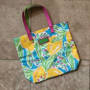 Lilly Pulitzer for Estée Lauder Floral Tote Bag
